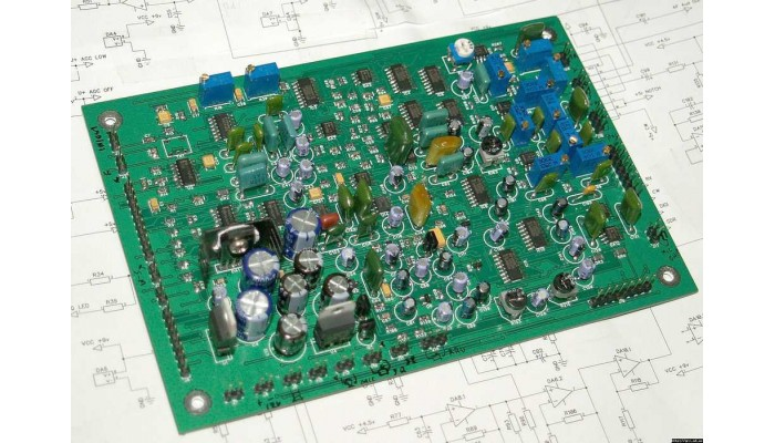 The collected fees direct conversion transceiver / SDR Nika