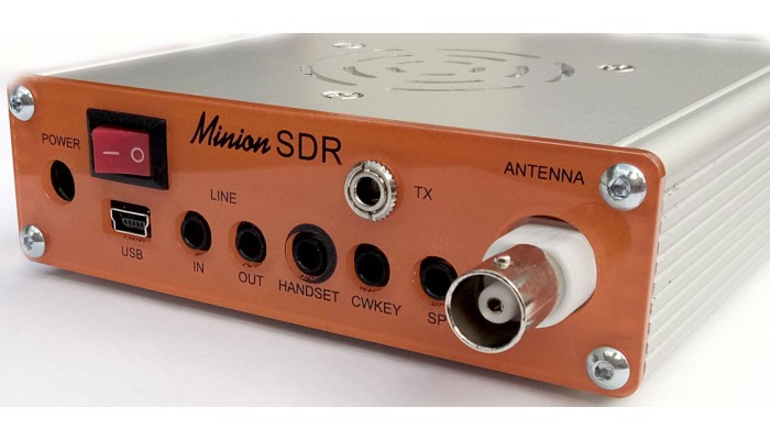 - All-band, 10-band HF SDR transceiver Minion SDR