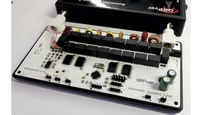 Antennas - Automatic antenna tuner QRPver ATU-100