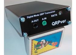 QRPver-1 v.2 (JT65 / PSK / BPSK / FSQ QRP Transceiver)
