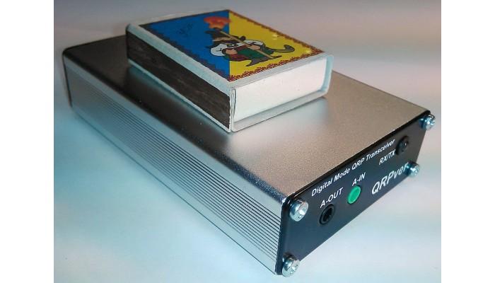 Transceivers - QRPver-1 v 2 (JT65 / PSK / BPSK / FSQ / APRS QRP Transceiver)