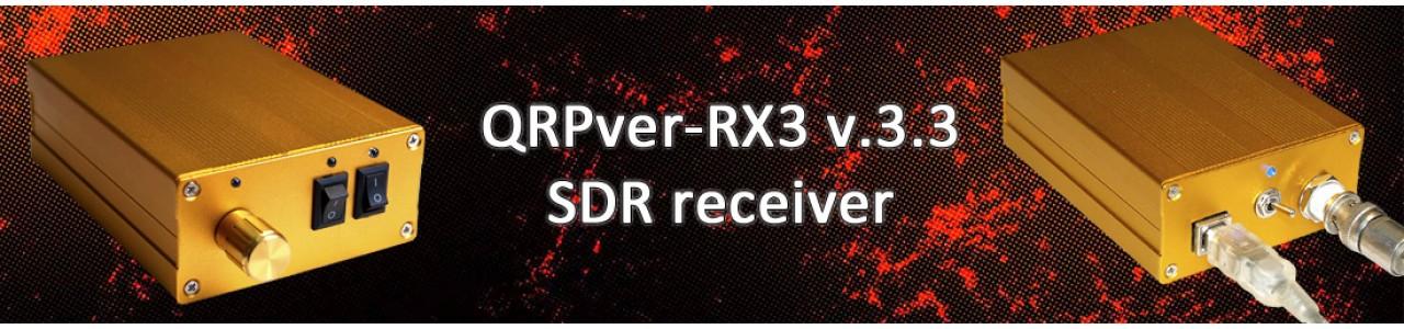 QRPver-RX3 v.3.3 (SDR receiver)