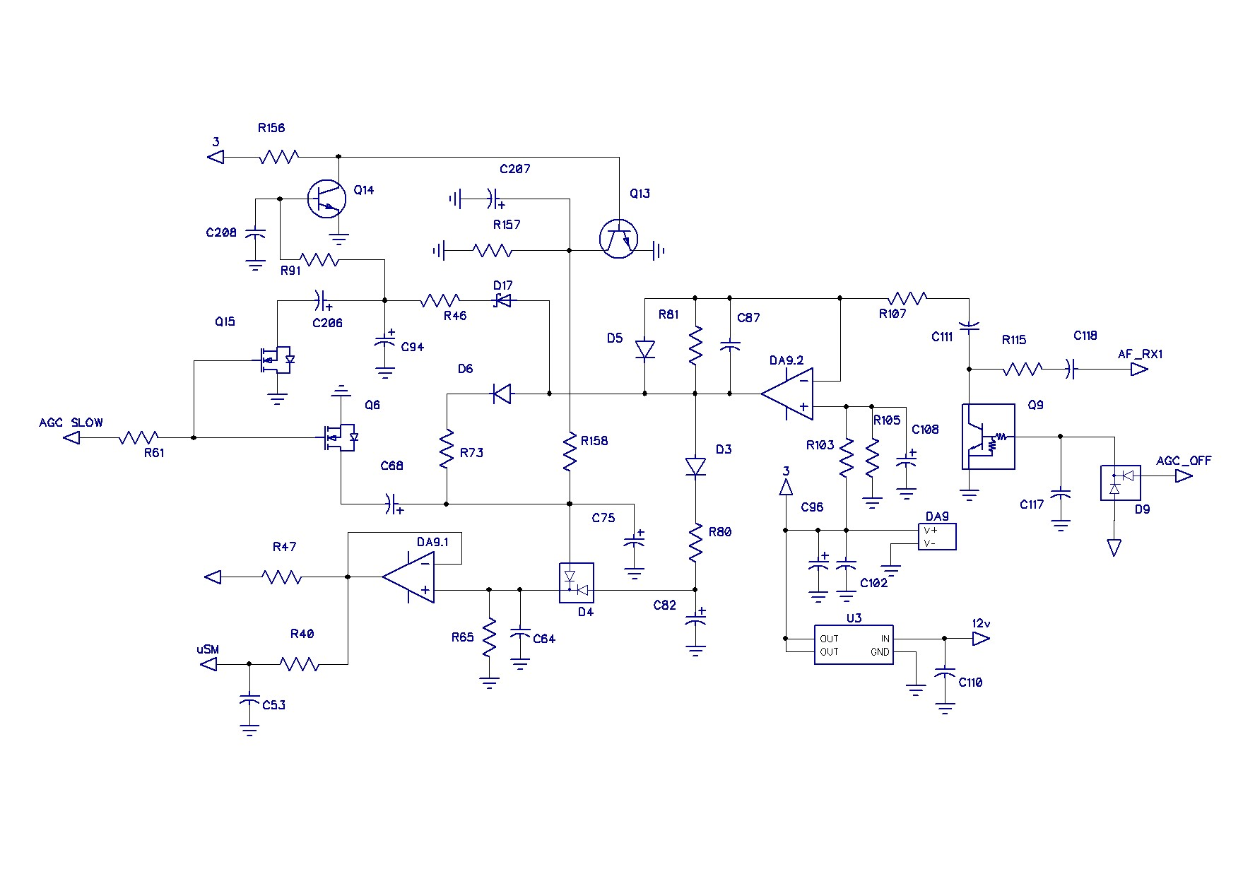 Qrpver Dc 3001 Circuit Diaghram Of Low Frequency Synthesizer After The Phase Shifter Signal Is Fed To An Amplifier With Adjustable Gain Which Set By Optocoupler Participating In